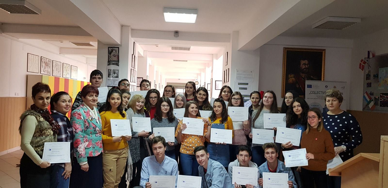 Echipa de proiect _certificate Euroscola 2019