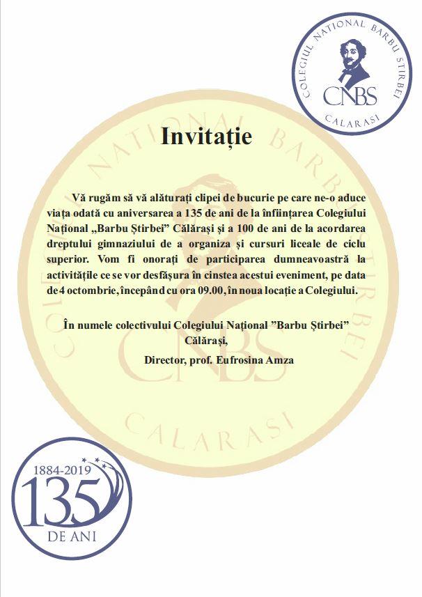 Invitatie 135